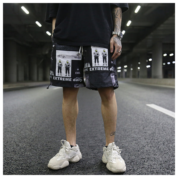 INS 2018 high street hip-hop casual shorts