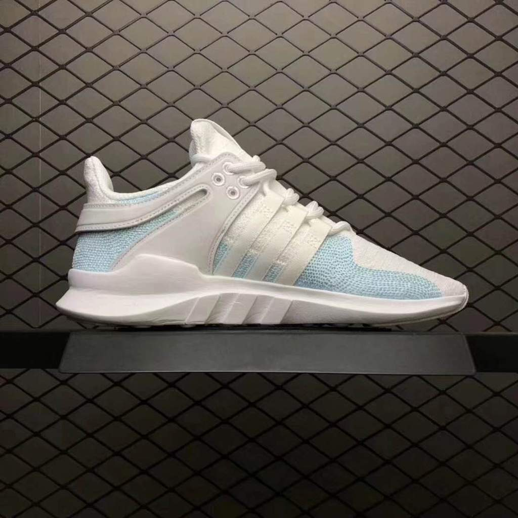 competitive price a4293 a507e Adidas EQT Support ADV Parley 'Blue Spirit / Off White'