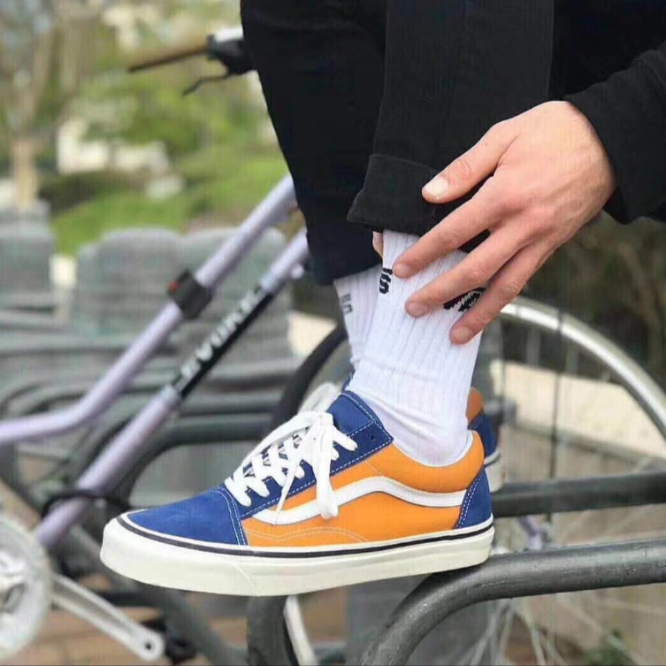 8ded2b4c81b80e Vans Old Skool 36 DX Anaheim Factory OG Blue Gold – FootWork