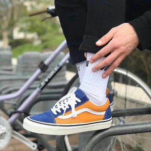 Vans Old Skool 36 DX Anaheim Factory OG Blue Gold