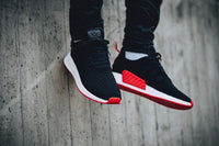 Adidas NMD R2 Primeknit 'Core Black/Core Red'