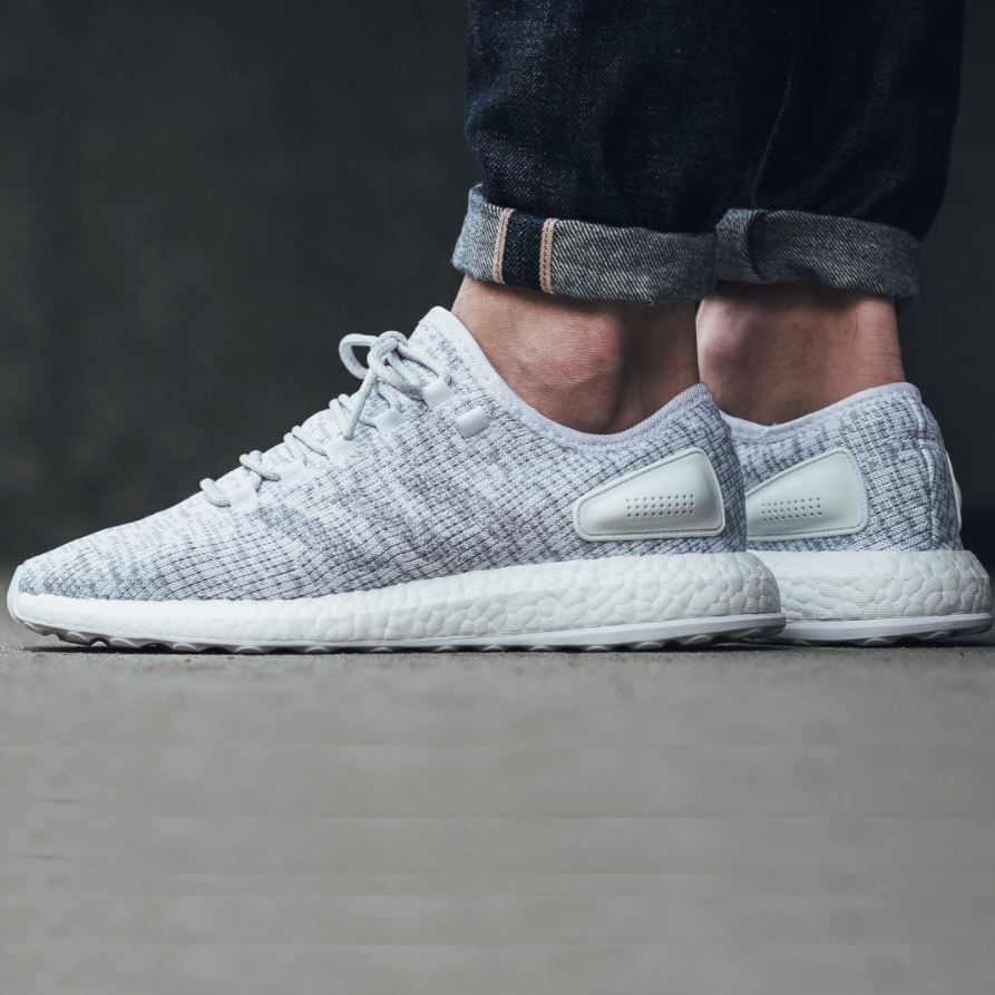 Adidas Pure Boost 2.0 White/Clear Grey