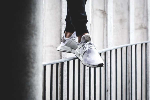 ADIDAS NMD XR1 DUCK CAMO White Core Black