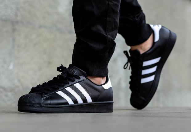 buy popular 370b4 60144 Adidas Superstar 2 Black White