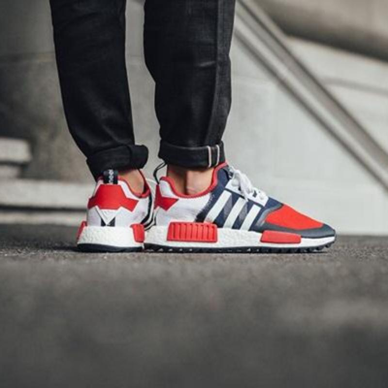 74afa164a2951 White Mountaineering x Adidas NMD Trail PK  Solar Red Collegiate Navy