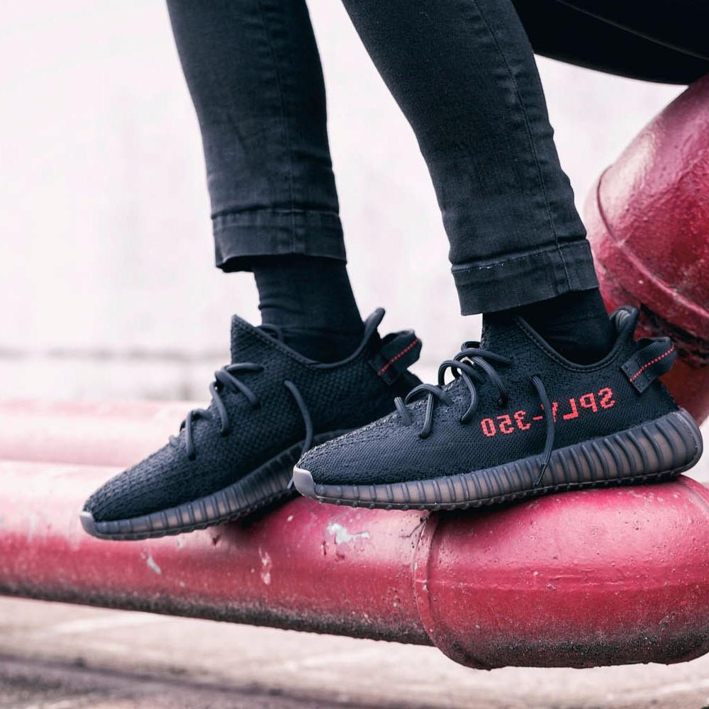 "Adidas Yeezy Boost 350 V2 2017 ""Core Black/Red"""
