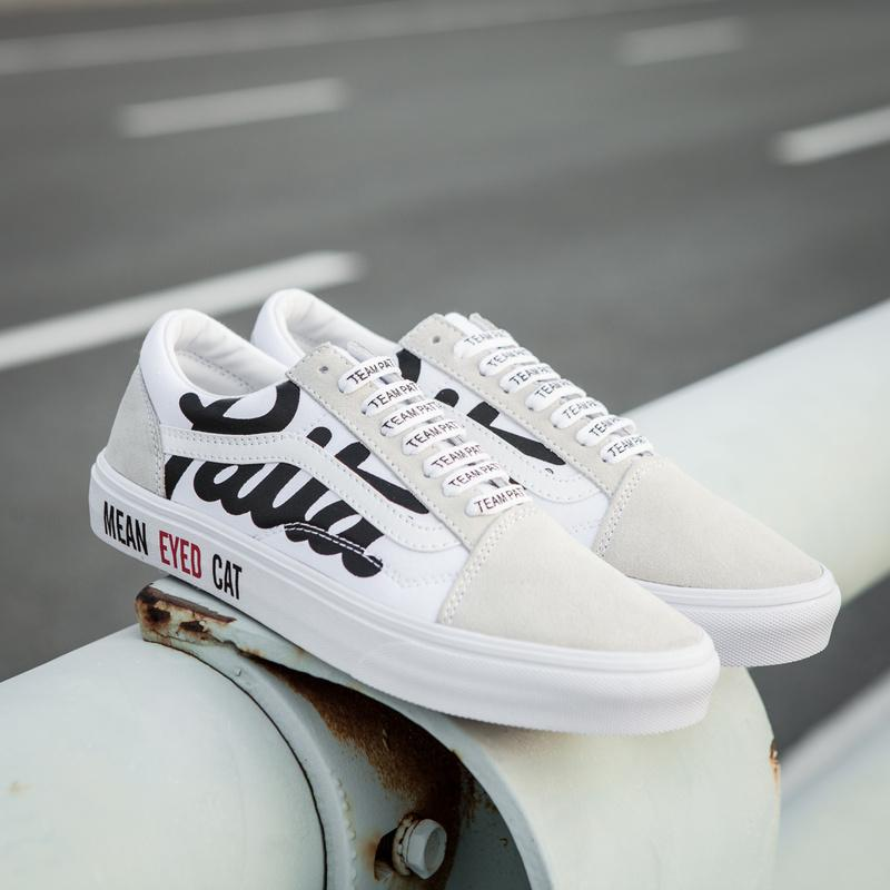 "Patta x Vans Mean Eyed Cat ""TRUE WHITE"""