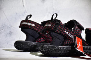 new styles b52b2 b13e1 Under Armour Fat Tire Sandal 'Black/Red' – FootWork