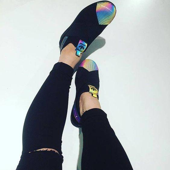 meet fd4c3 6a411 Adidas x Rita Ora '' Superstar Slip On ''