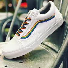 Vans Old Skool Rainbow Skate