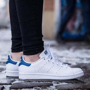 "Adidas Stan Smith ""White/Royal Blue""-S74778"