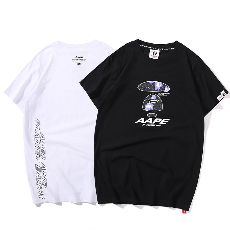 AAPE by A Bathing Ape Planet Theme T-Shirt