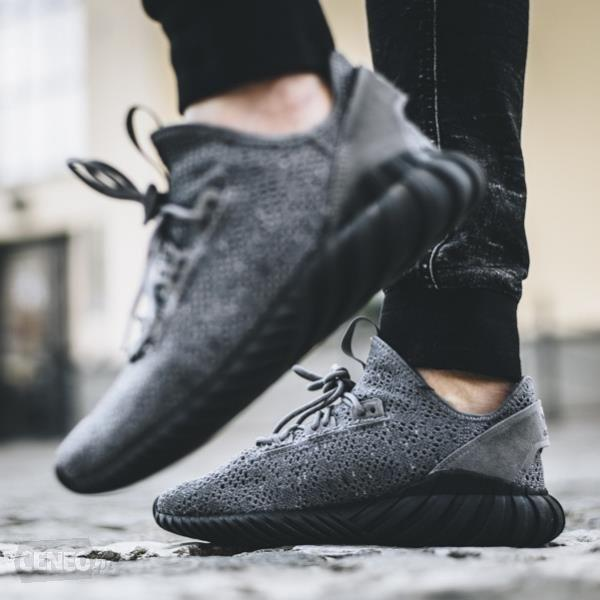 reputable site d68d0 4b5dc Adidas Tubular Doom Sock Primeknit 'Grey Four /Core Black'