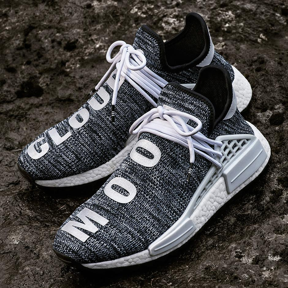 huge discount 8a1fc 03333 Pharrell Williams x Adidas Human Race NMD TR Core Black
