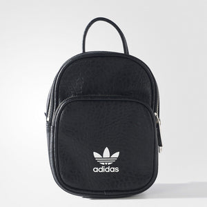 Adidas Mini Leather Backpack 'Black'