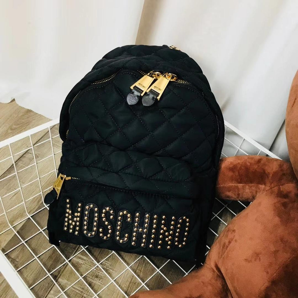 Moschino Bagpack Black Dust Free