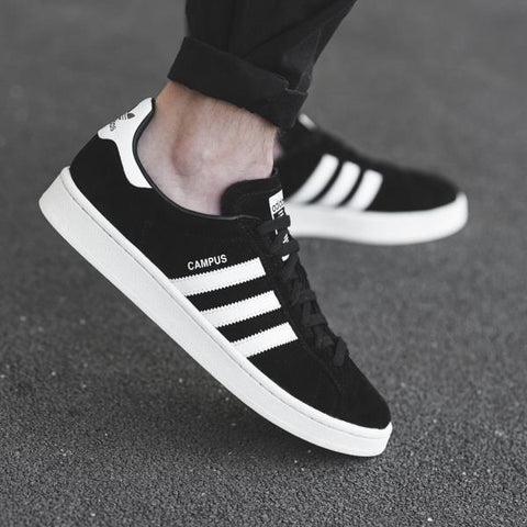 0bbe84f75b756 Adidas Campus - Core Black Ftwr White Chalk White