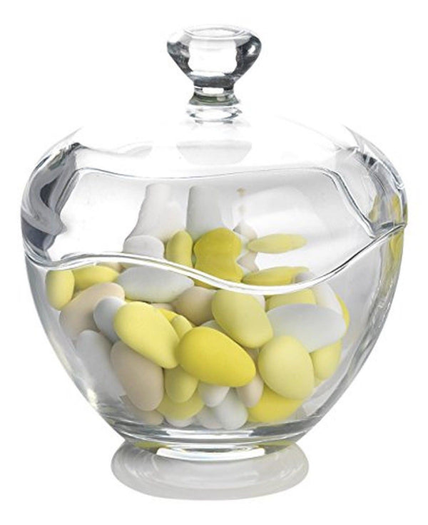 Round Glass Candy Bowl With Lid Trading Innovation
