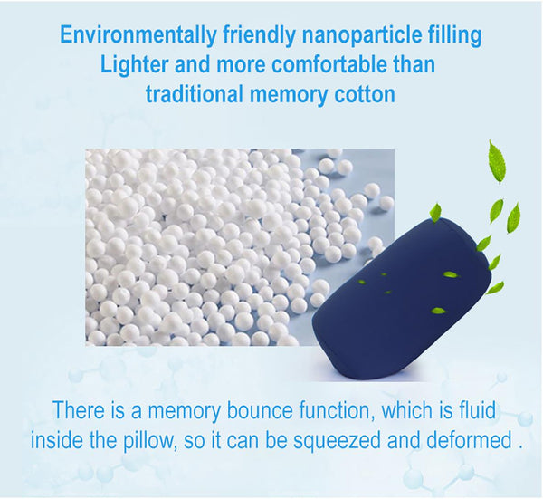 Mini Microbead Pillow Cushion Neck And Head Support