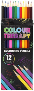 12 Pack Colour Therapy Sharpened Colour Pencils