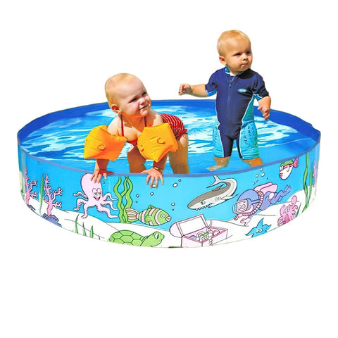 Round Kids Inflatable Swimming Pool