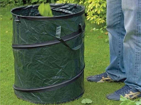 HEAVY DUTY POP UP GARDEN BIN BAG WASTE RUBBISH LEAVES BAG SACK HANDLES Trading Innovation