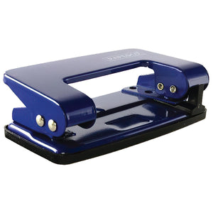2 Hole Metal Punch Machine | 8 Sheet Capacity | Heavy Duty | Assorted Colours | Suitable for Office, School, Paper, Art & Craft