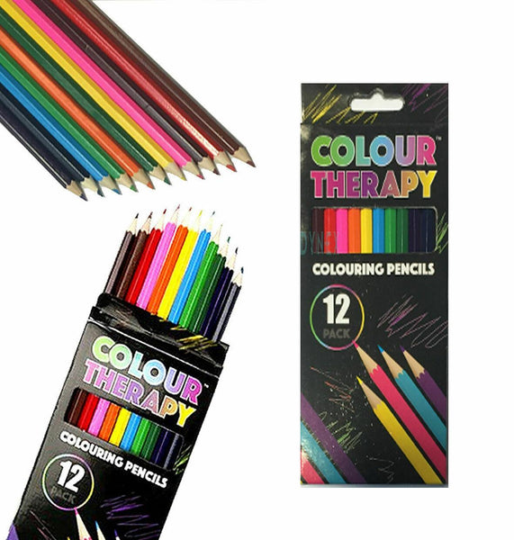 12 Pack Colouring Pencils