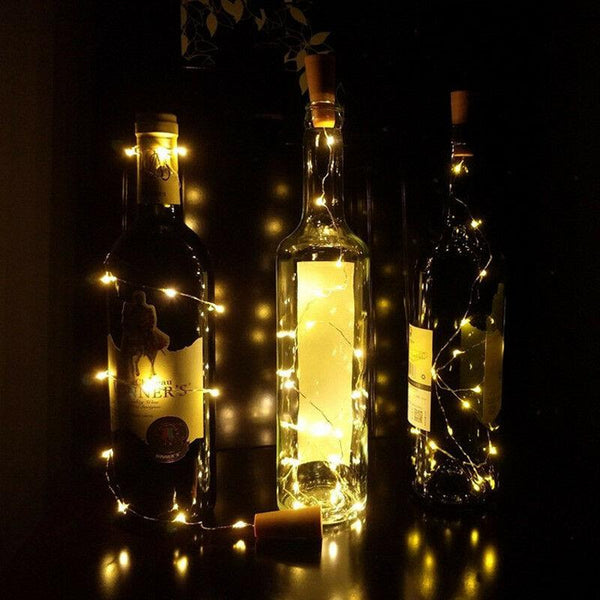 Bottle light warm white