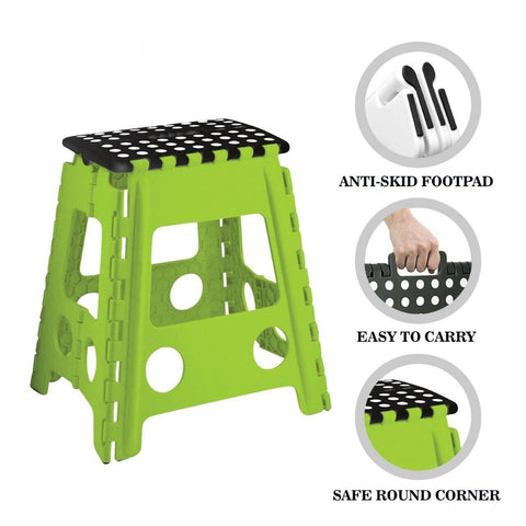 Extra Large Foldable Plastic Step Stool