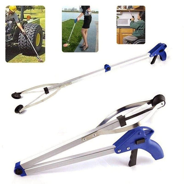 Folding Pick Up Tool Litter Picker Mobility Assistance Strong Reaching Grabber Trading Innovation
