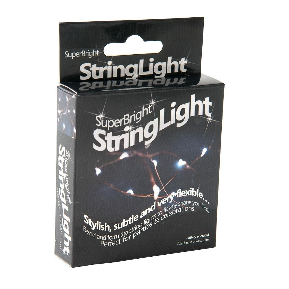 String Light Super Bright LED Magic String Lights Copper Wire White Party Gifts