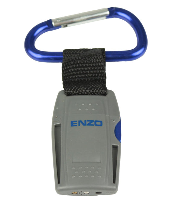 Turbo Flame Carabiner Clip Key Ring with Jet Flame Lighter | Windproof & Re-Fillable