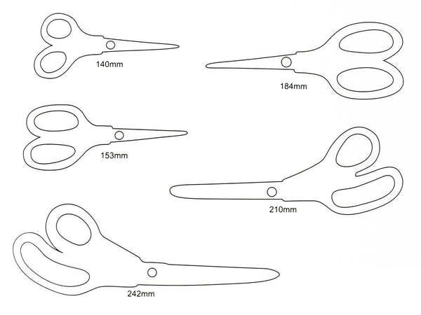 5 Piece scissor set