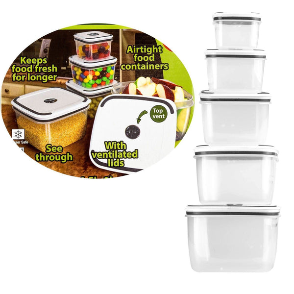 10Pc Food Container Set Trading Innovation