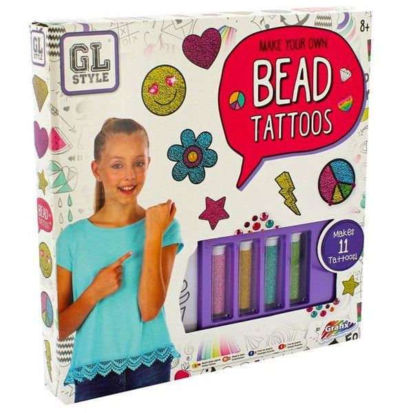 Girls Make Your Own Bead Tattoos Jewellery Bracelet