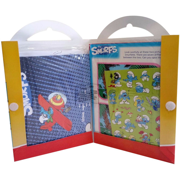 The Smurfs Carry Pack ( Lots Of Great Activities Inside ) Trading Innovation
