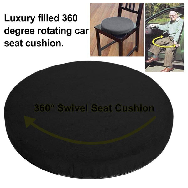 Memory Foam Cushion Chair Rotating Seat for Car & Home