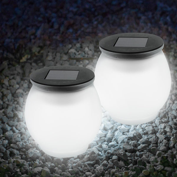 2Pk Solar Sun Jar Lights