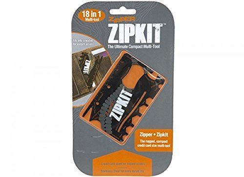 Zip kit 18 in 1 Pocket Multi-Tool Credit Card Bottle Opener Screwdriver Trading Innovation