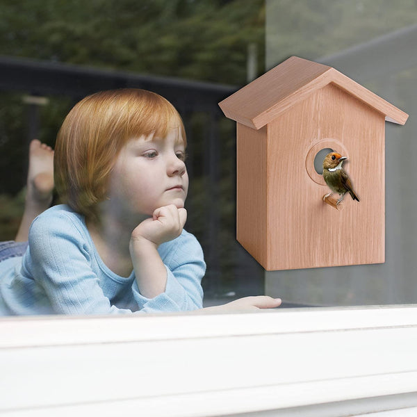Spy Birdhouse Window Mount