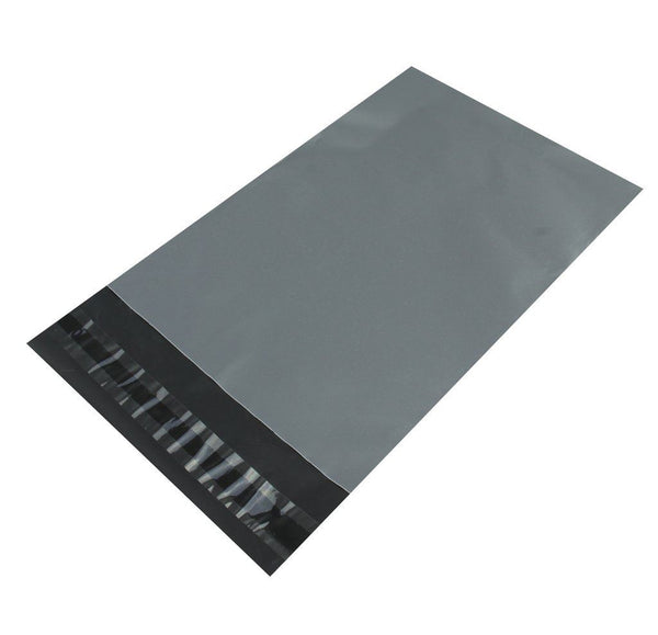 Poly Mailers Plastic Envelopes Shipping Postal Bags (Grey, All Sizes)