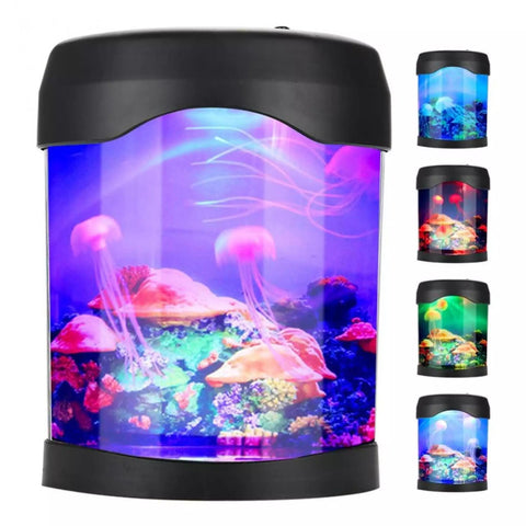 Jellyfish Aquarium Colour Changing Light Lamp