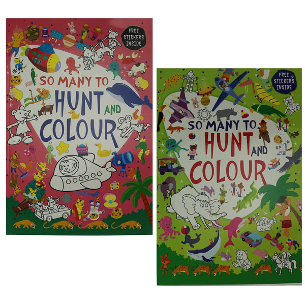 Colouring Book for Kids with Free Stickers Inside