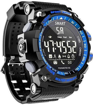 GR-Shock negro DAMASQUI Bluetooth-Clock-Notification-Remote-Control-Pedometer-Sport-Watch-Outdoor-Swimming-Men-Smartwatch-reloj-inteligente