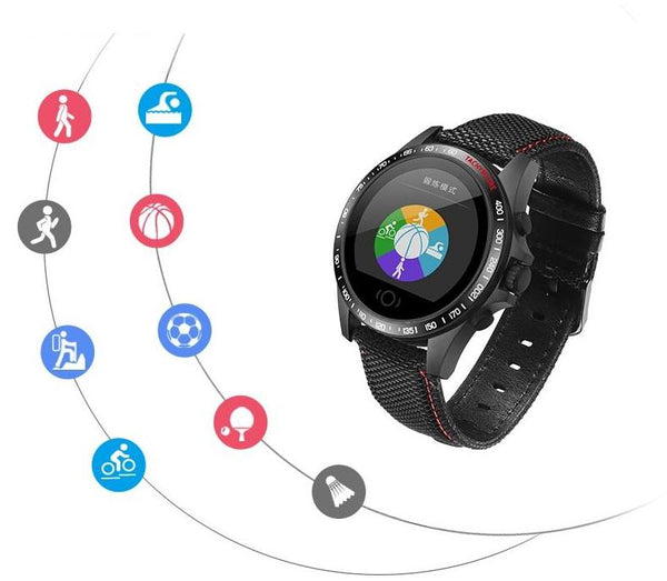 TITANIUM-C Reloj inteligente Bluetooth compatible con Android y iOS - DAMASQUI ®