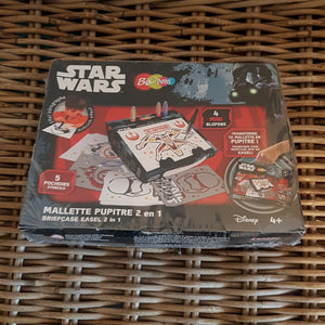 LANSAY - Mallette pupitre 2 en 1 Blopens Disney Star Wars