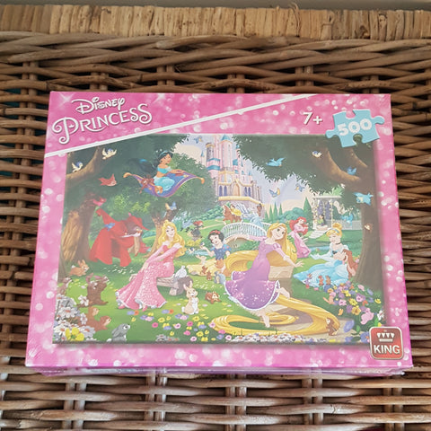 KING - Puzzle Disney Princess 500 pièces
