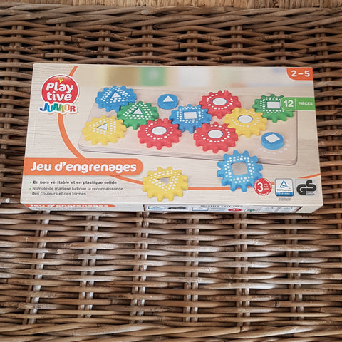 PLAYTIVE JUNIOR - Jeu d'engrenages