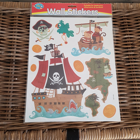 Sticker mural Pirate